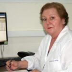 a Ouvidora do HRAC, Dra. Maria Irene Bachega
