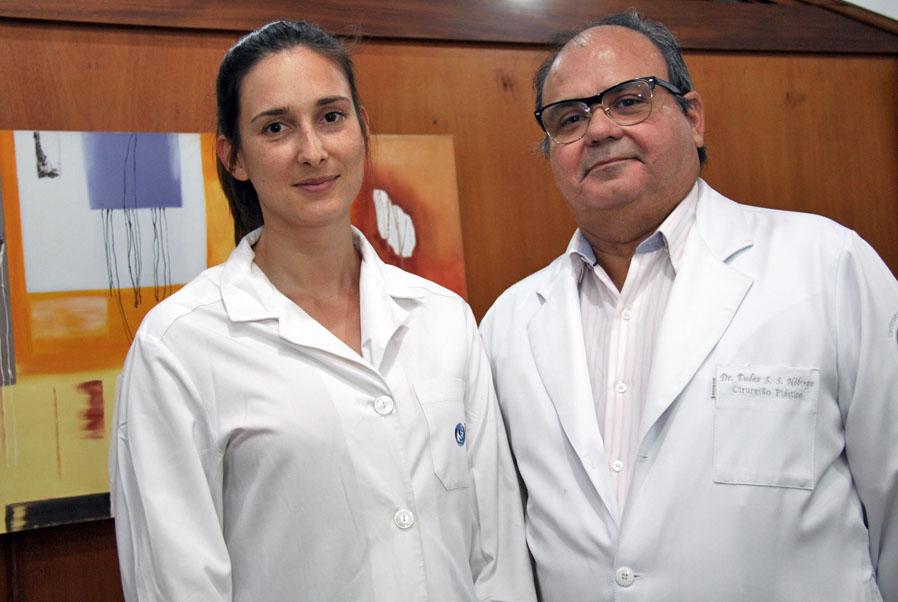 Cirurgiã portuguesa realiza intercâmbio no Centrinho-USP