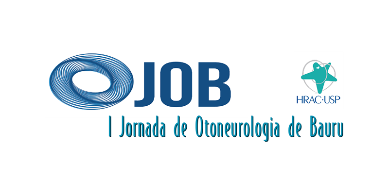 1ª JOB: Jornada de Otoneurologia de Bauru • 11 de outubro de 2019