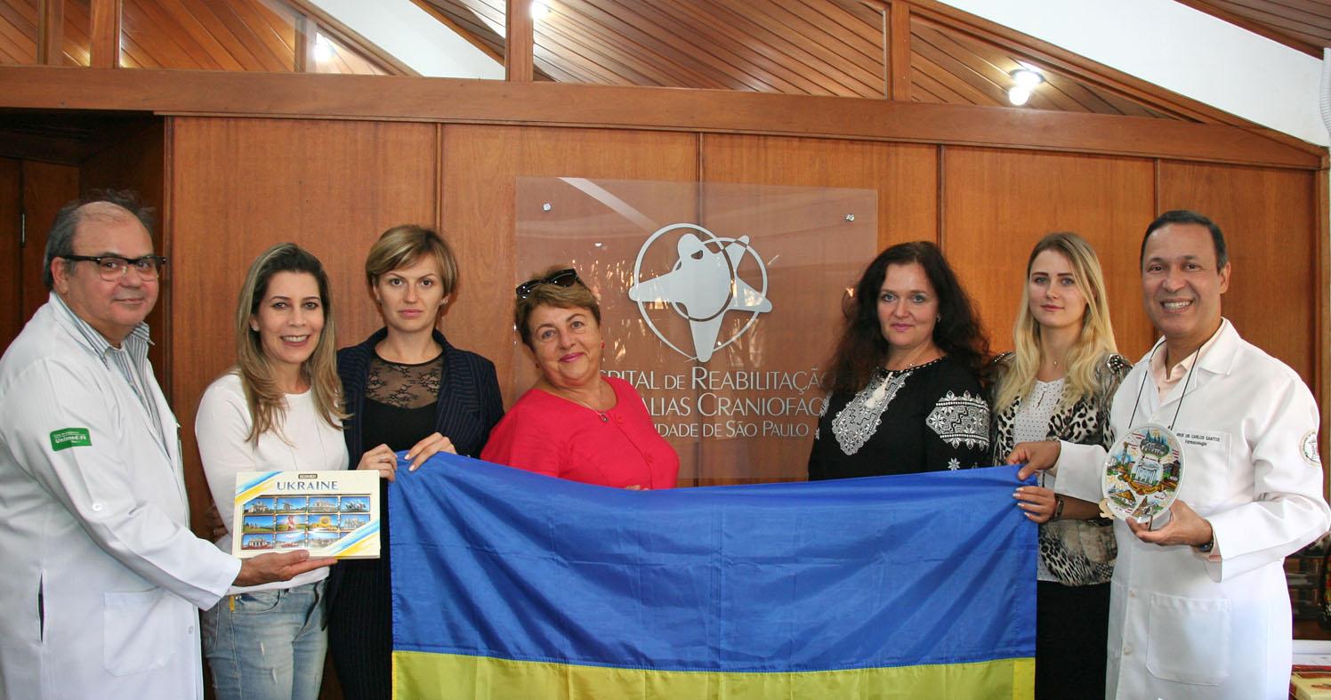 HRAC/Centrinho-USP e projeto Smile Ukraine