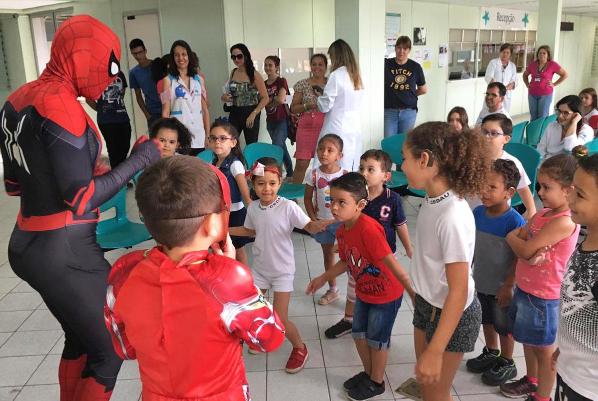 Mês das Crianças: Outubro tem programação especial no HRAC-USP