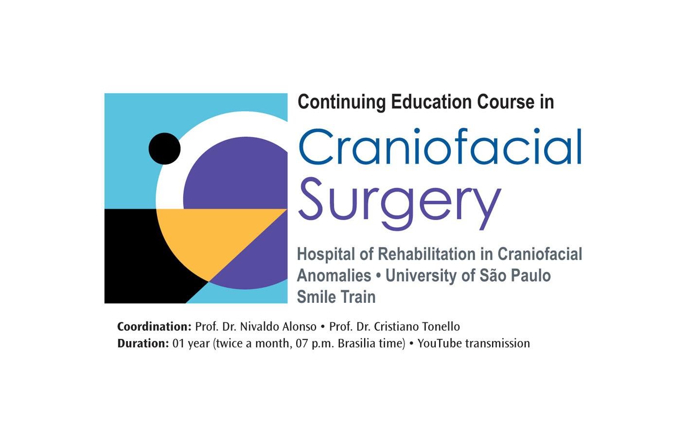 HRAC-USP e Smile Train promovem curso a distância de cirurgia craniofacial