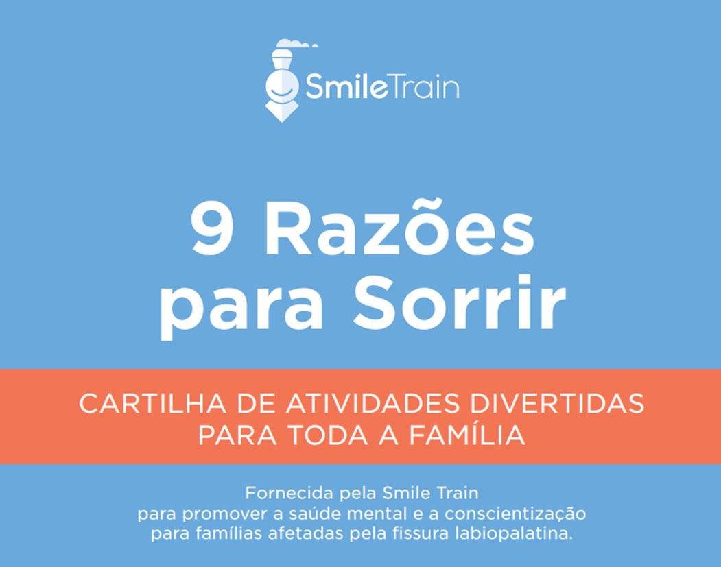 Smile Train lança o livro 9 Razões para Sorrir