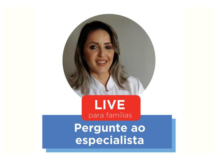 (Português do Brasil) Live aborda psicologia para crianças com fissura labiopalatina