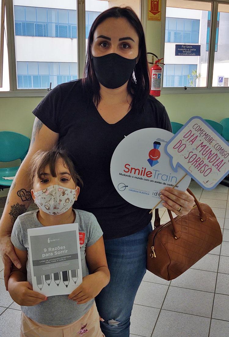 (Português do Brasil) Semana divulga a fissura labiopalatina e capta recursos para o tratamento
