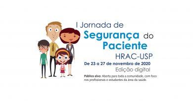 <strong>1ª Jornada de Segurança do Paciente • de 23 a 06 de novembro de 2020 • Evento <em>on-line</em> • </strong><em>PRORROGADO!</em>
