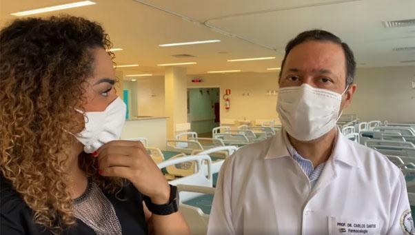 (Português do Brasil) Superintendente do HRAC-USP recebe prefeita Suéllen em visita à Unidade 2
