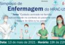 <strong><em>6º Simpósio de Enfermagem • Semana da Enfermagem do HRAC-USP • 13 de maio de 2021</em></strong>