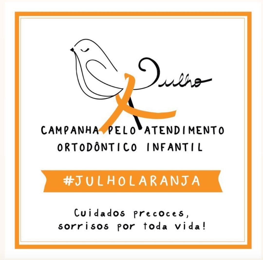 (Português do Brasil) Julho Laranja alerta sobre ortodontia precoce