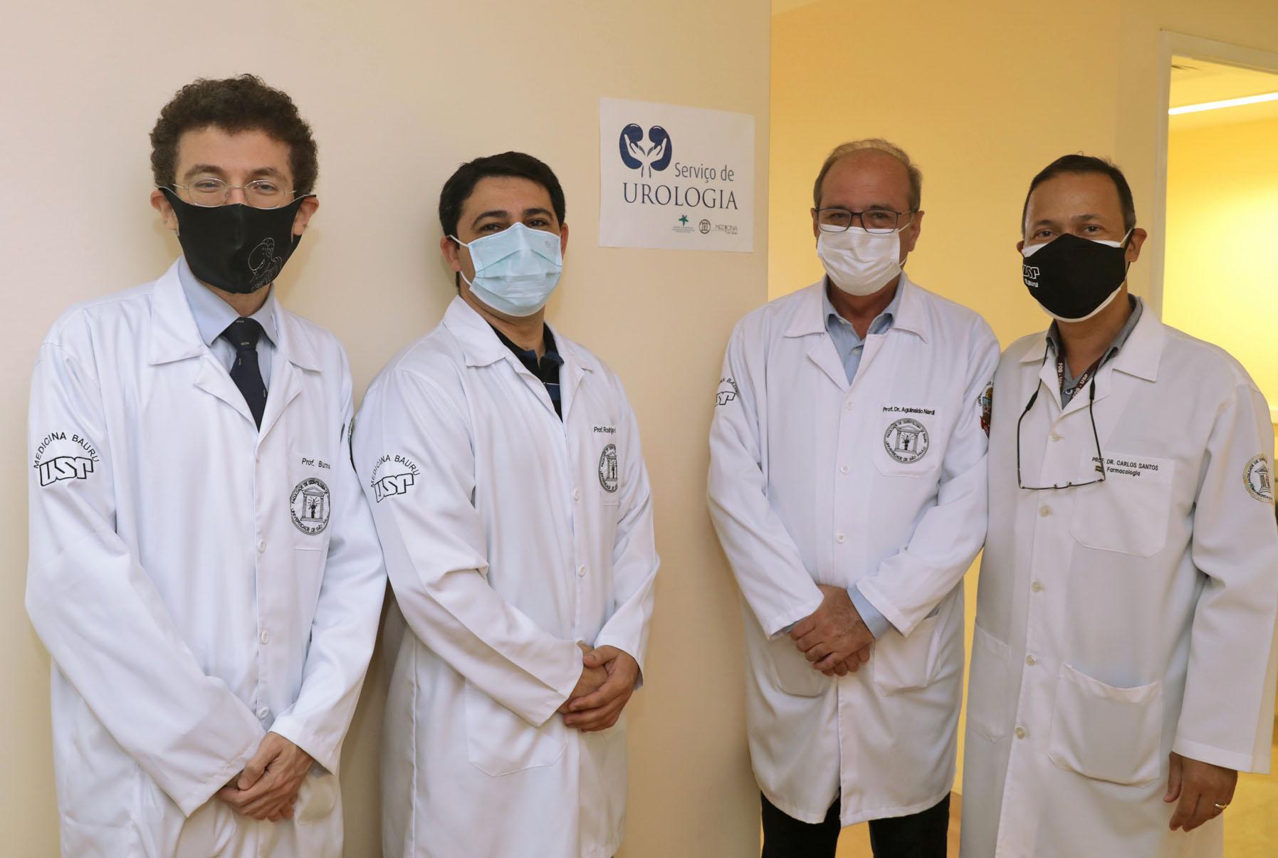 USP-Bauru implanta Serviço de Urologia